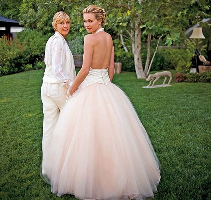 The Blush Ball Gown worn by Portia de Rossi