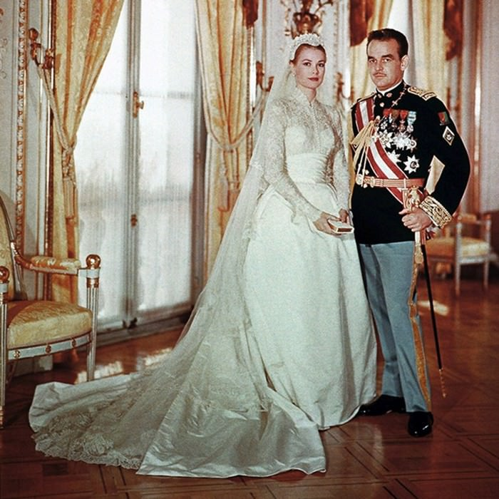 The regal ball gown, worn by Grace Kelly
