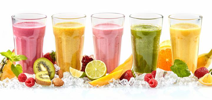 Drink lots of smoothies