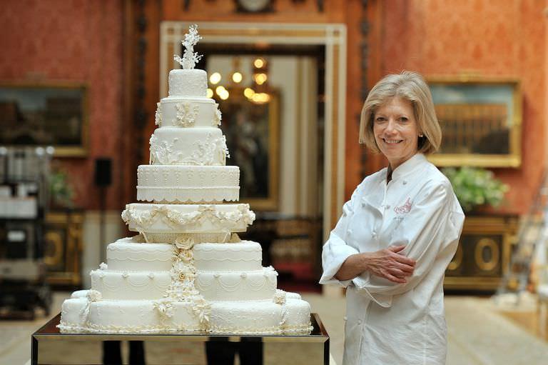 Fiona Cairns Royal Cake for Princess Kate