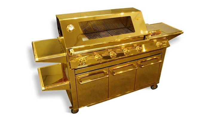 Most Expensive Gold Grill
