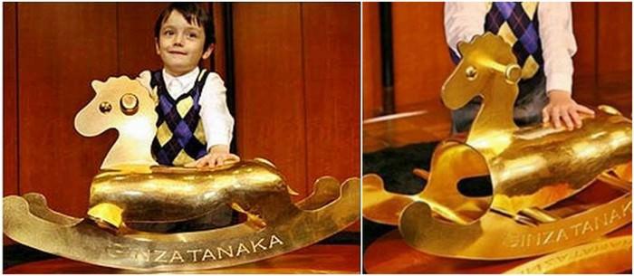 Gold Rocking Horse – $600,000