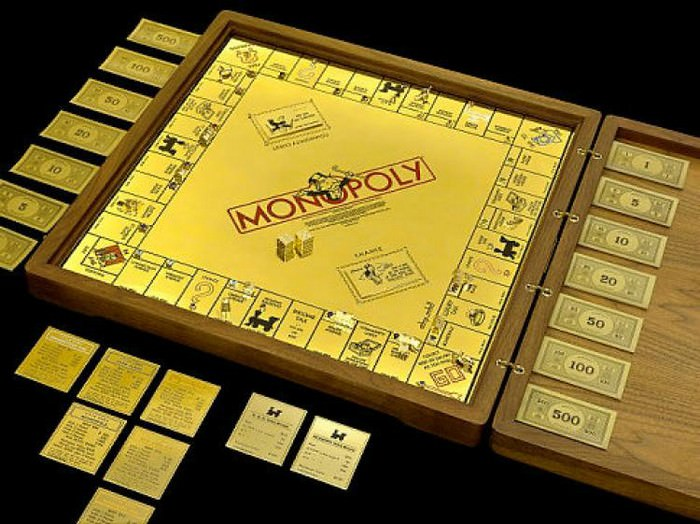 Wall Street's $2m Monopoly set