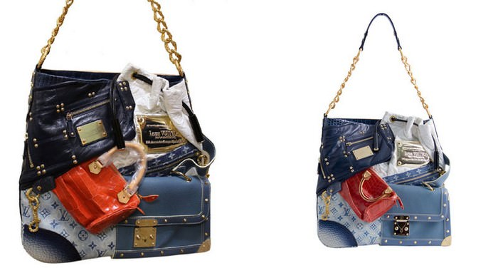 Louis Vuitton Tribute Patchwork Bag - $42,000