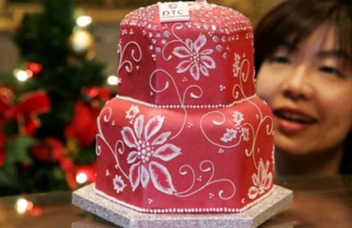 Luster Dust Cake - $1.3 million