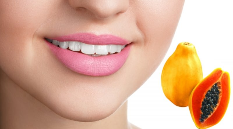 Papaya - get natural pink color lips