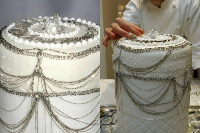 Platinum Cake by Nobue Ikara - $130,000