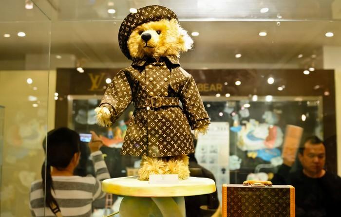 Steiff Louis Vuitton Teddy Bear