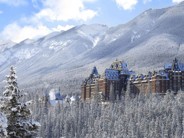 The Fairmont Banff Springs Hotel, Alberta