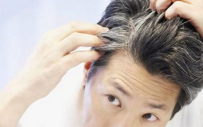 stop premature graying of hair