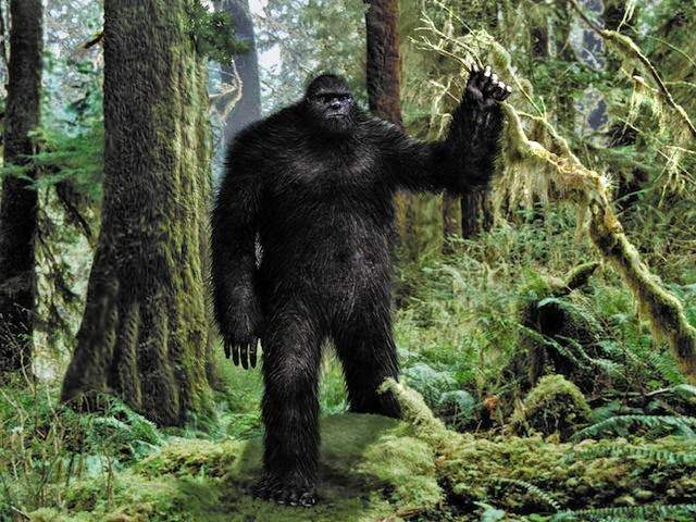 Bigfoot Scariest Monsters