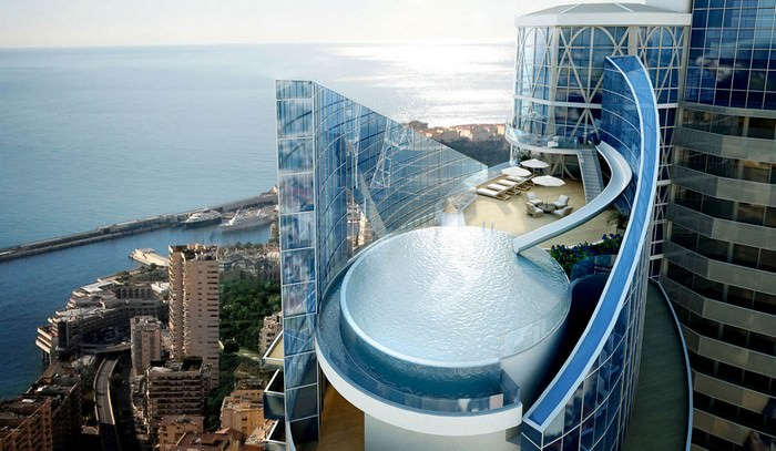 luxurious penthouses Sky Penthouse