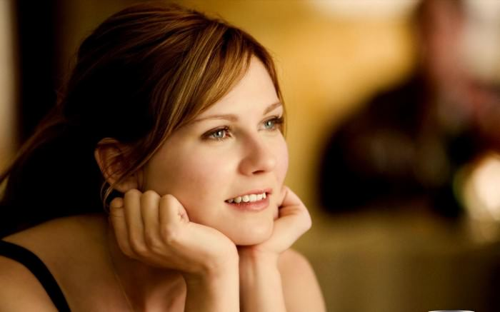 Kirsten Dunst Female Celebrities with Dimples