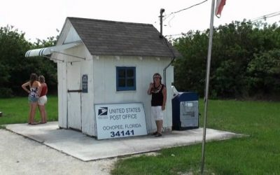 The Ochopee Post Office in Florida