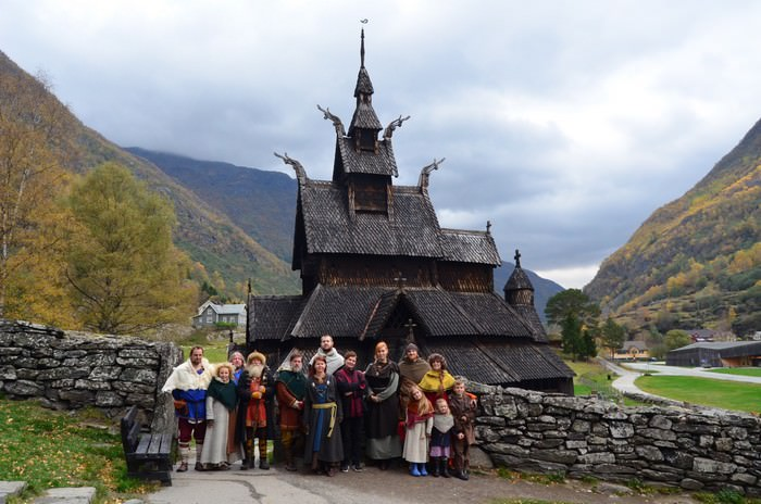 Most Famous Churches Borgund Stave