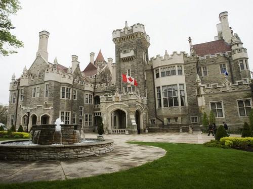 Casa Loma in Toronto Canada