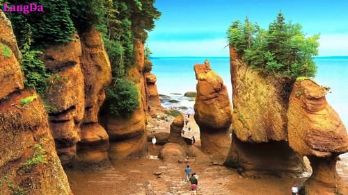 Hopewell Rocks Bay of Fundy Canada