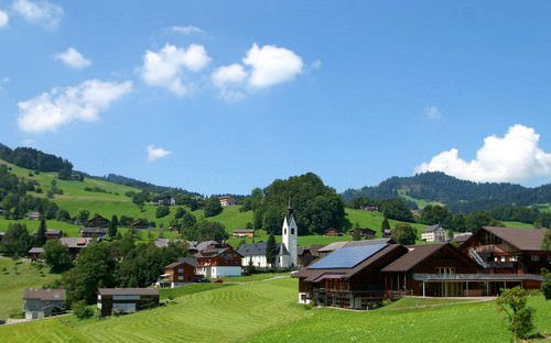 Vorarlberg is a mountainous state in western Austria