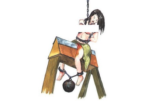 JUDAS CRADLE Gruesome Ancient Torture Methods