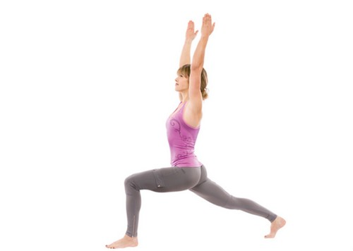 Strengthen Core with Lunges