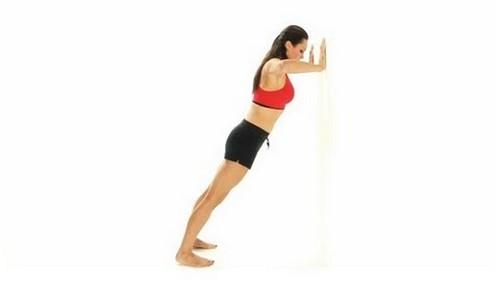 standing push-ups