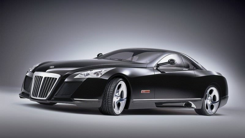 Mercedes-Benz Maybach Exelero - $8 million