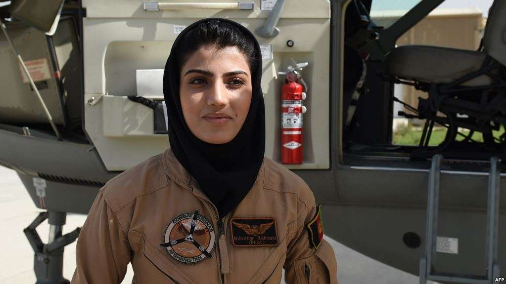 Niloofar Rahmani Female Fighter Pilots