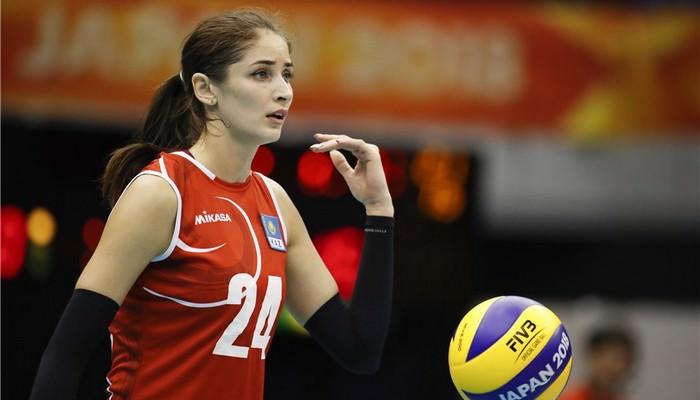 Kristina Karapetian Kazakhstan female athletes