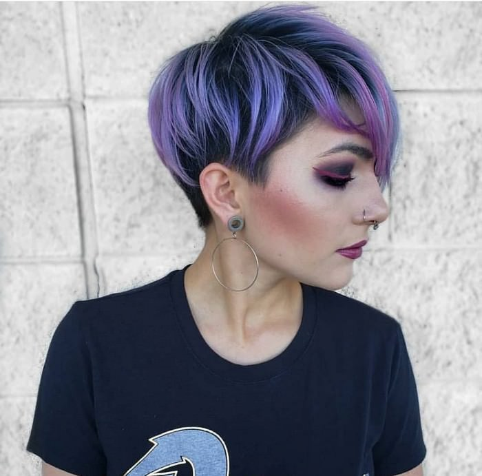 Purple Hair Ideas 2019