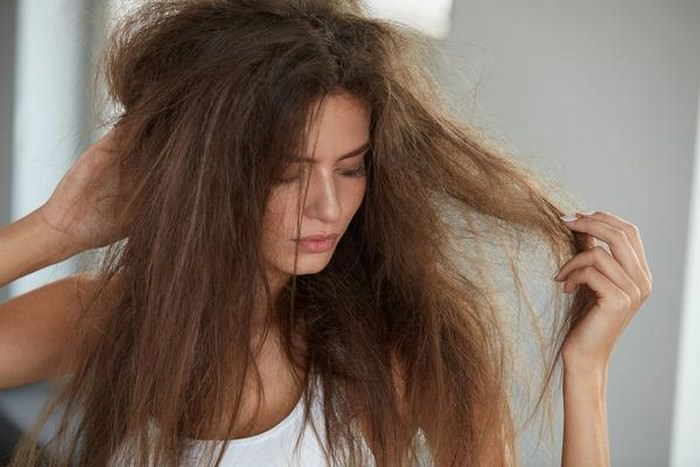 Dry, Dull and frizzy hair