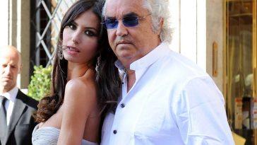Flavio Briatore and his wife Elisabetta