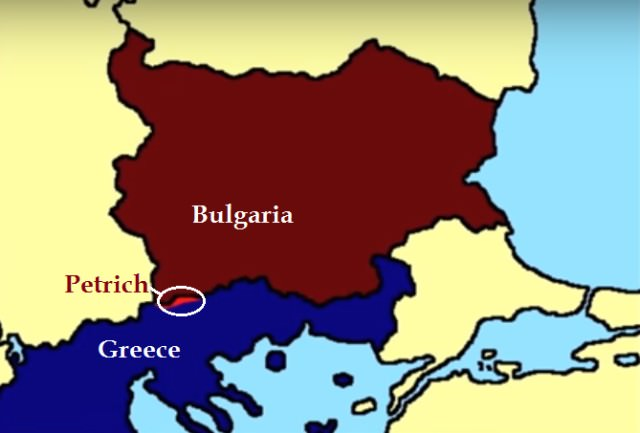 Bulgaria-Greece war