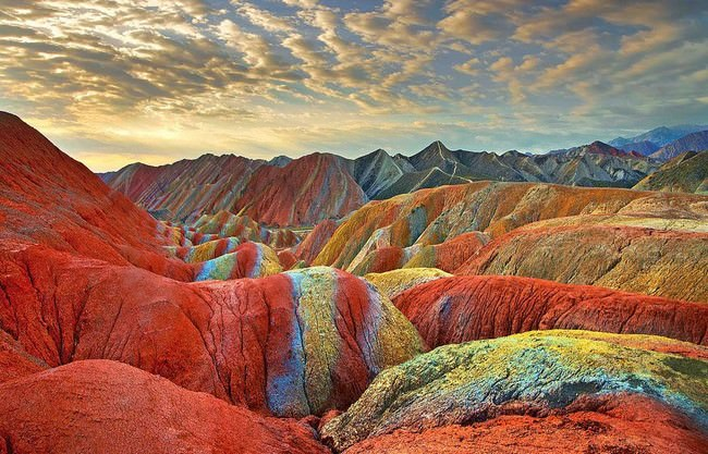 Rainbow Mountains Stunning Places on Earth