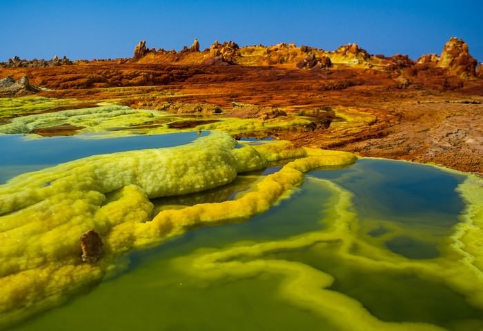 Danakil Depression beautiful places to visit in Africa