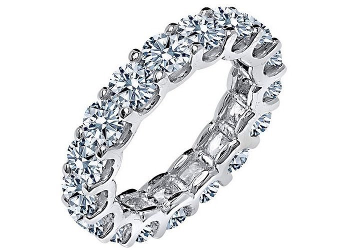Diamond Band Classic Engagement Rings