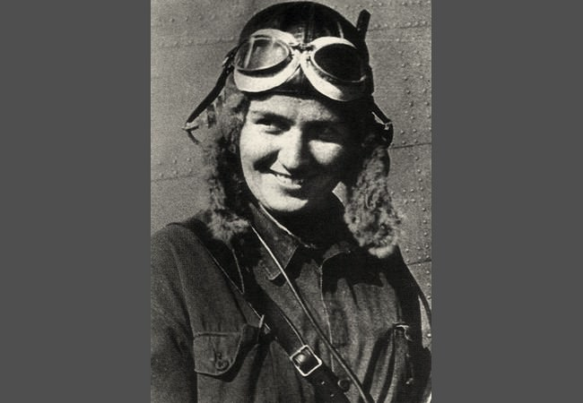 Marina Raskova, the heroine of the Second World War