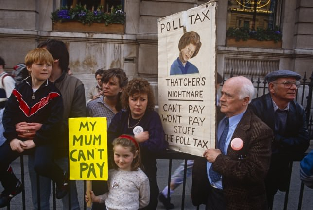 Poll Tax Riots, March 31st 1990