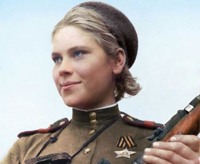 Roza Shanina Women Heroes of WWII