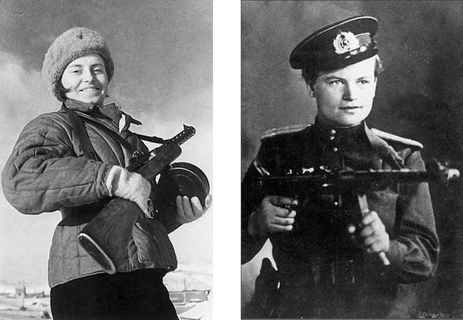 Yevdokiya Zavaliy - Heroes of the Second World War