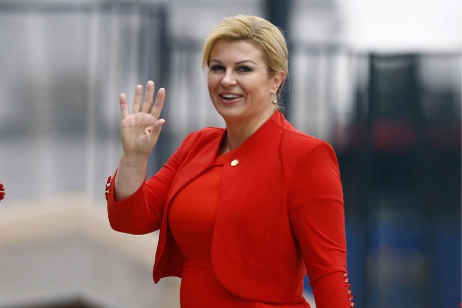 Croatian president Kolinda Grabar-Kitarović