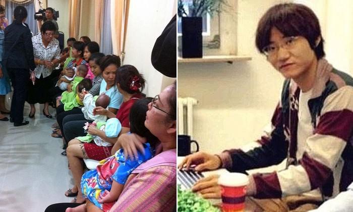 Japanese billionaire, Mitsutoki Shigeta kids