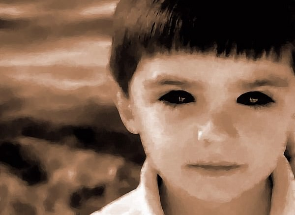 Black eyes Scariest Texas Urban Legends