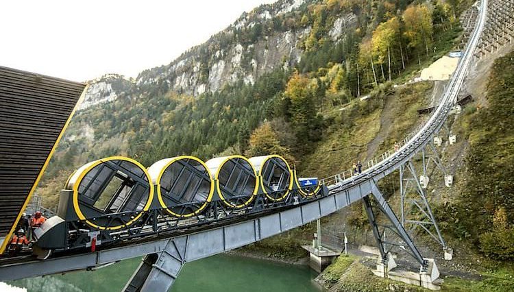 World's Steepest Mountainside Railway