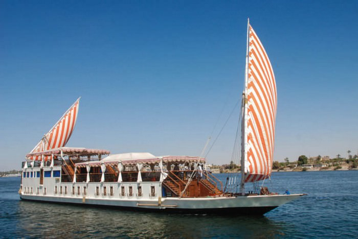 Gorgonia Dahabiya Nile Cruise
