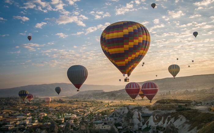 Ride in a Hot air balloon