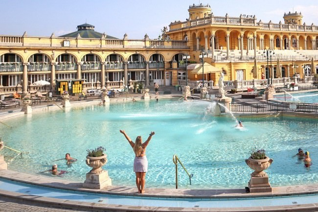 Visit a Spa in Budapest