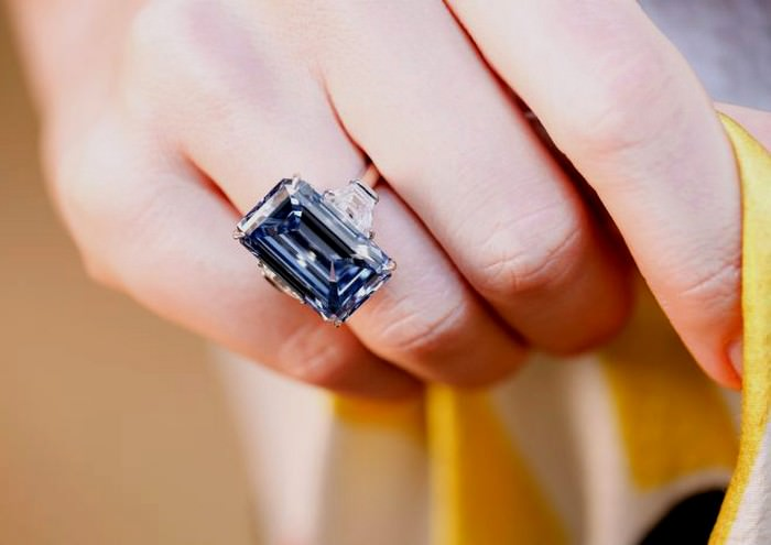 Oppenheimer Blue diamond Most Expensive Jewelry Items