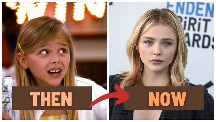 Chloë Grace Moretz Before and After