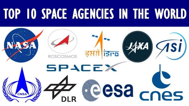 TOP 10 SPACE AGENCIES IN THE WORLD