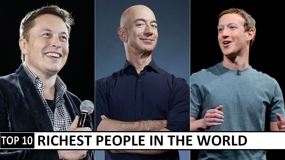 10 richest people in the world 2021